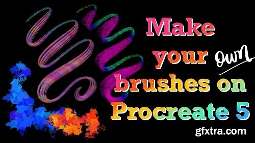 Make your own brushes on Procreate 5!