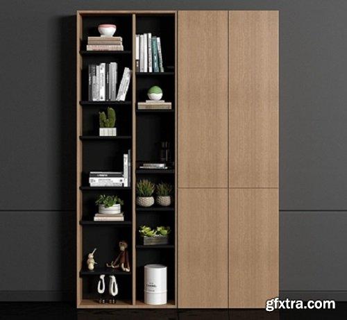 Decorative cabinet / book decoration