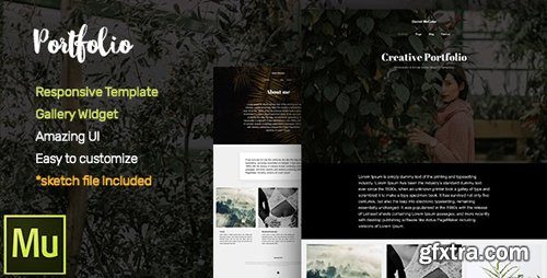ThemeForest - Portfolio v1.0 - Adobe Muse CC Responsive Template + Gallery Widget - 19352386