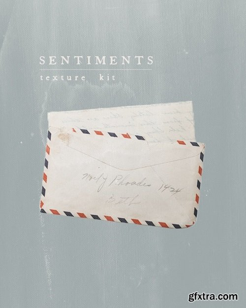 1924US - Sentiments - texture kit by Elle May