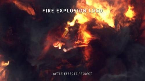 Videohive - Fire Explosion Logo