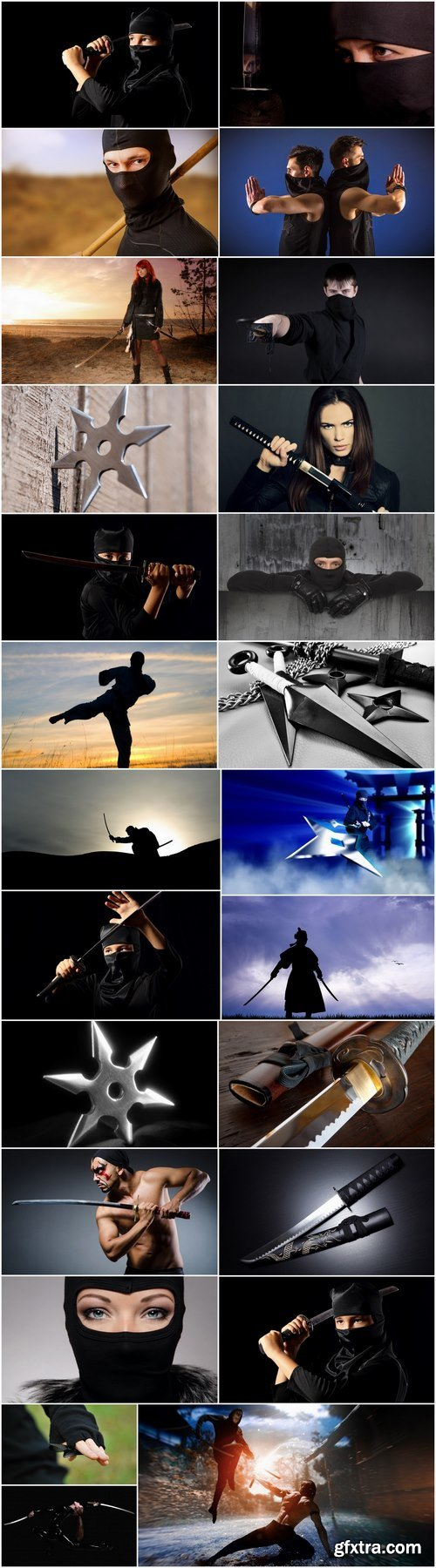 Ninja shuriken warrior katana sword 25 HQ Jpeg