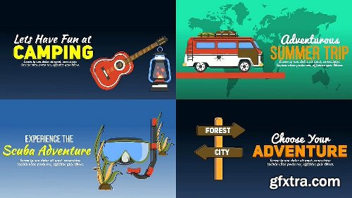Videohive Travel & Holiday Promotion Kit 25443546