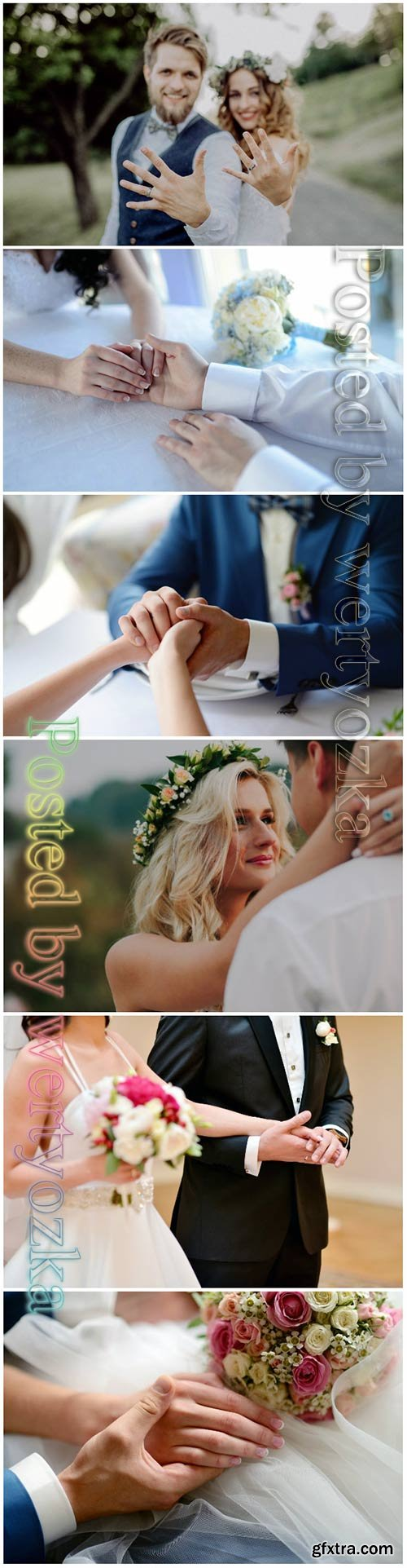 Wedding couple beautiful stock photo