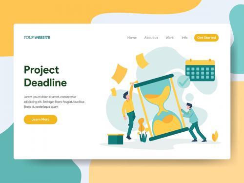 Project Deadline Illustration - project-deadline-illustration