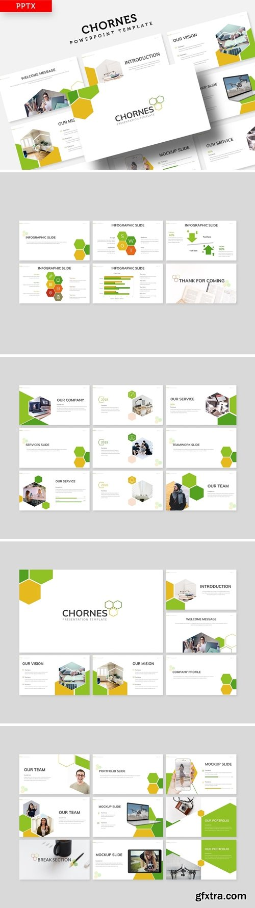 Chornes Powerpoint, Keynote and Google Slides Templates