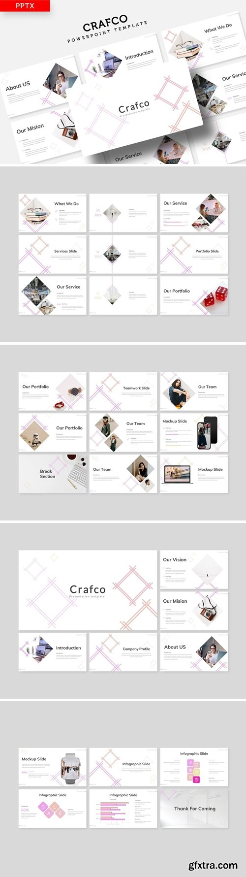 Crafco Powerpoint, Keynote and Google Slides Templates