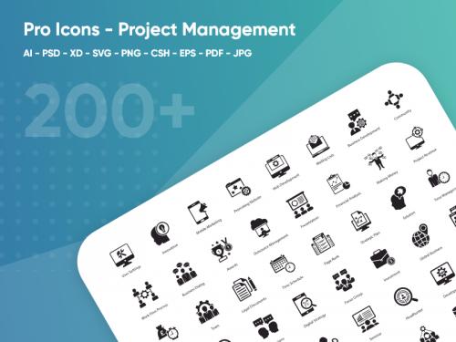 Project management Pro Icons - project-management-pro-icons