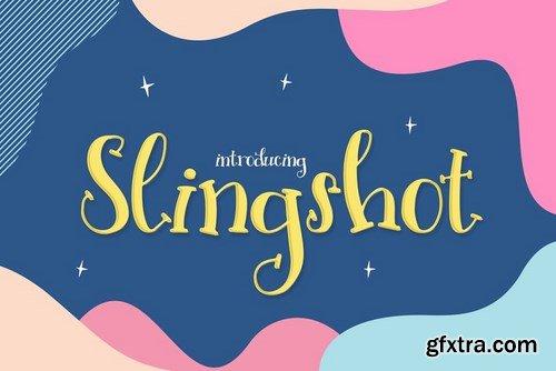 CM - Slingshot Font 4505673