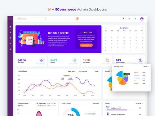 Promotial - ECommerce Admin Dashboard UI Kit - promotial-ecommerce-admin-dashboard-ui-kit