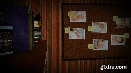 Videohive Birth Announcement (A Detective Story) 2540183