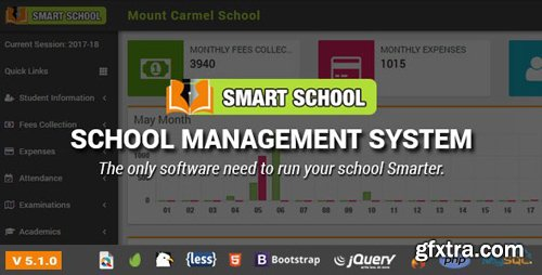 CodeCanyon - Smart School v5.1.0 - School Management System - 19426018 - NULLED