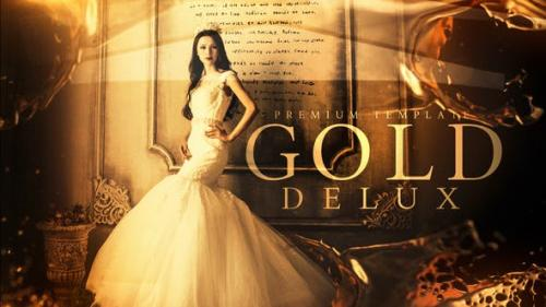 Videohive - Gold Delux