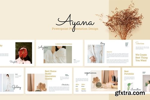 Ayana Powerpoint, Keynote and Google Slides Templates