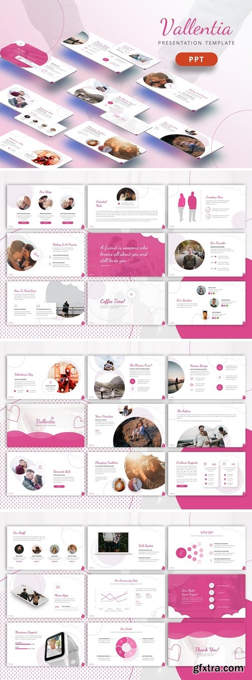 Valentia - Love Powerpoint, Keynote and Google Slides Templates