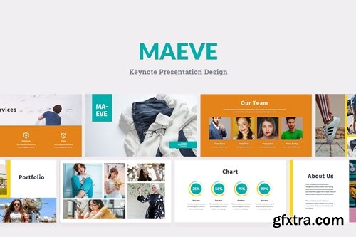 Maeve Powerpoint, Keynote and Google Slides Templates