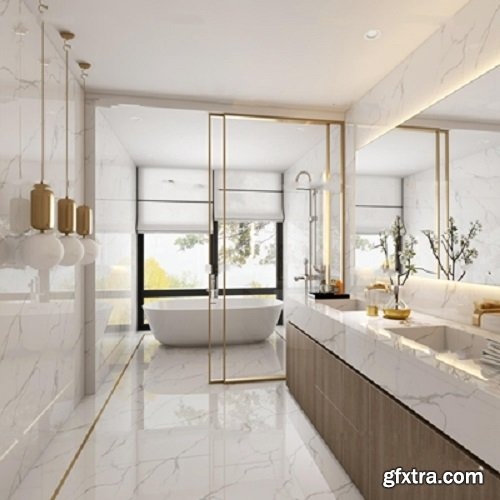 Modern Style Bathroom 84