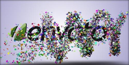 Videohive - Confetti Reveal