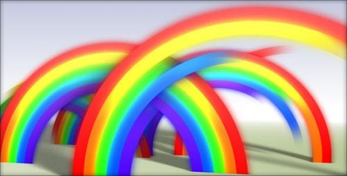 Videohive - Rainbow Reveal