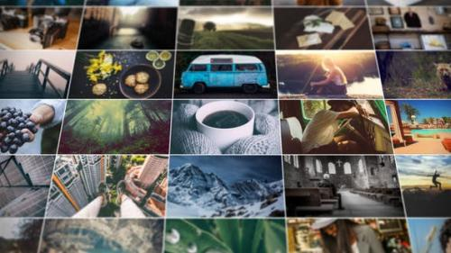 Videohive - Grid Photo Gallery