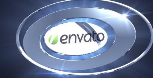 Videohive - Chrome Logo Reveal