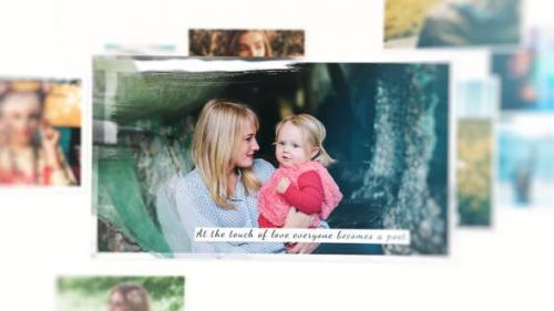 Videohive - Photography Smooth Brush Slideshow
