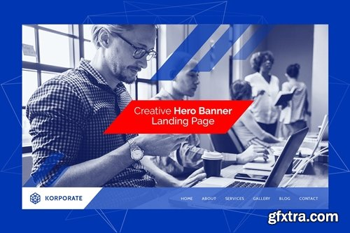 Korporate - Multipurpose Hero Banner