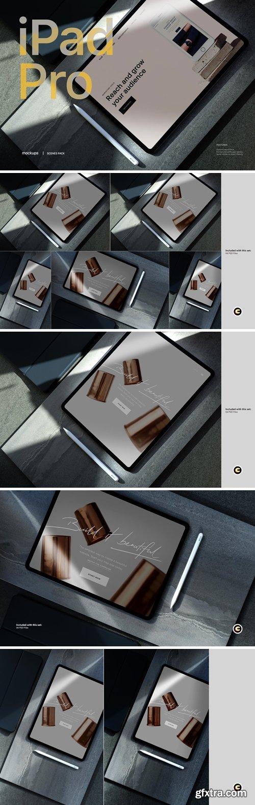 Tablet Mockup scenes