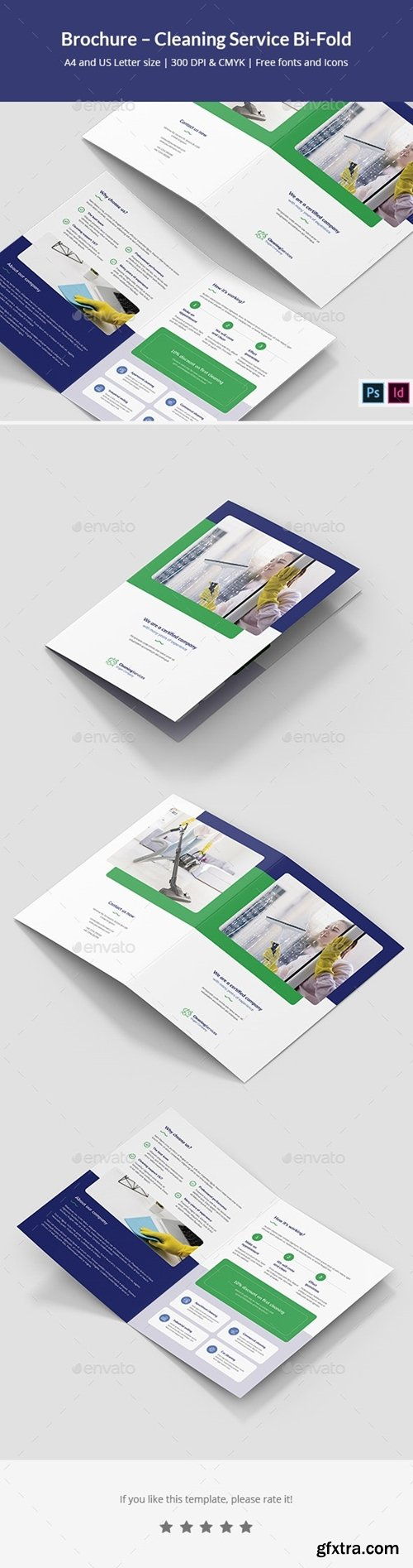 GraphicRiver - Brochure – Cleaning Service Bi-Fold 25570076