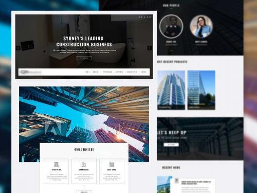 Real estate Homepage design - real-estate-homepage-design-a38dbedb-2768-4b63-a57f-867a464d345e