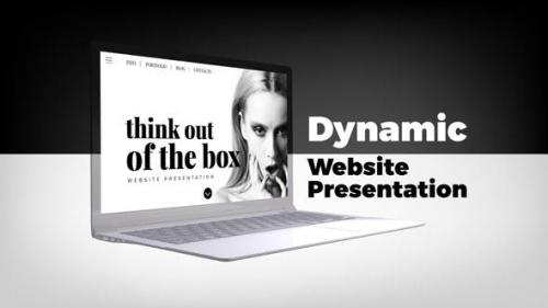 Videohive - Dynamic Website Presentation