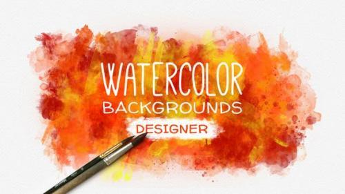 Videohive - Watercolor Background Designer