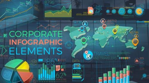 Videohive - Colorful Corporate Infographic Elements