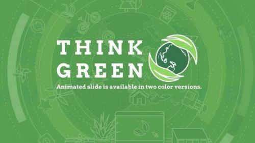 Videohive - Think Green