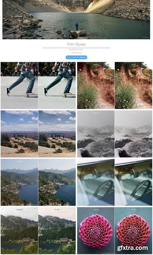 Capture One Styles - Film Styles