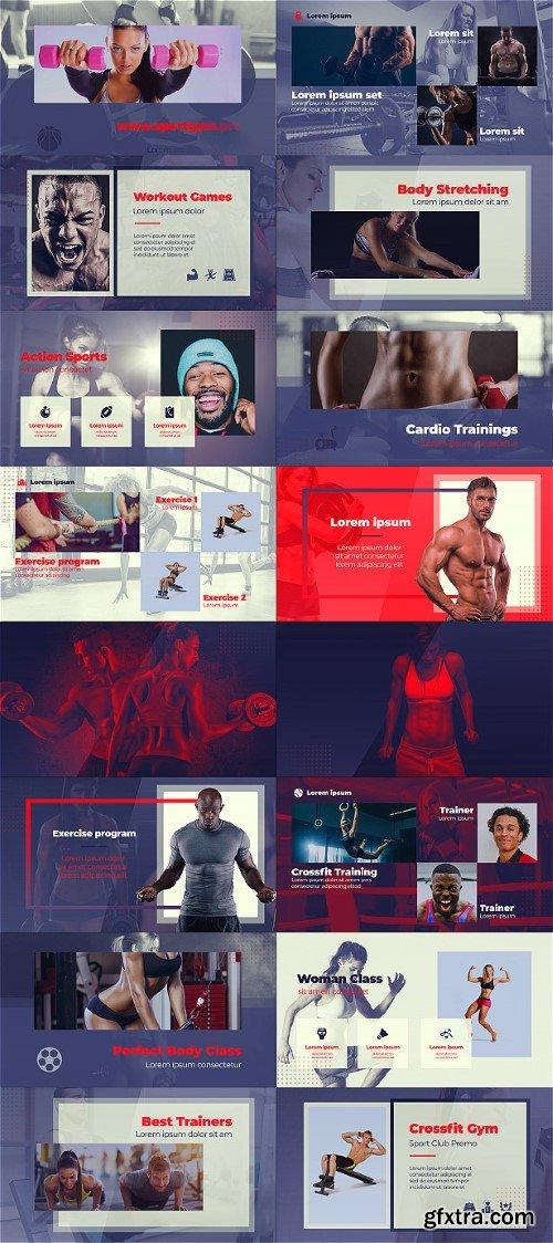 Videohive Sport Club - Crossfit Fitness Gym 23641288