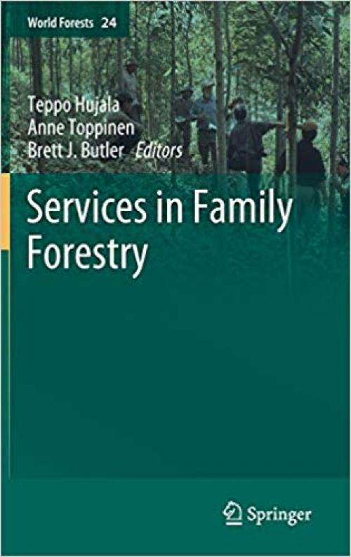 Services in Family Forestry (World Forests) - 3030289982