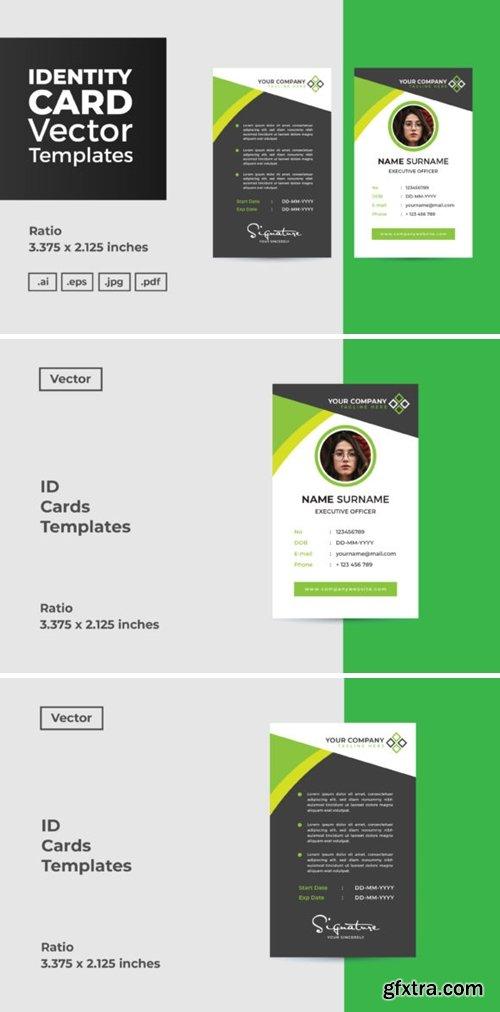 ID Card Vector Template 2645468