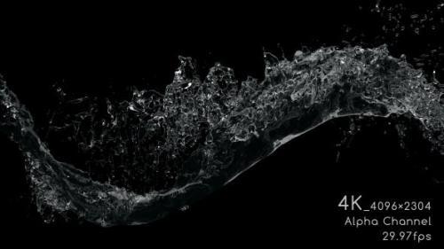 Videohive - Water Flow 4K