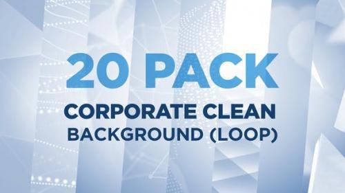 Videohive - 20 PACK Corporate Clean Background (Loop)