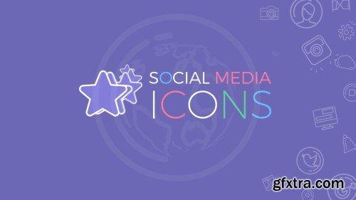 Videohive Social Media Icons 20112641