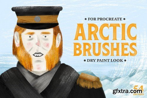 CM - Arctic Dry Brushes for Procreate 4286336