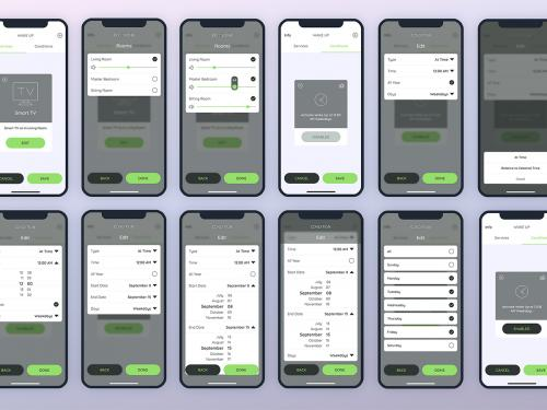 Services & Conditions Smarthome Mobile UI - FP - services-conditions-smarthome-mobile-ui-fp