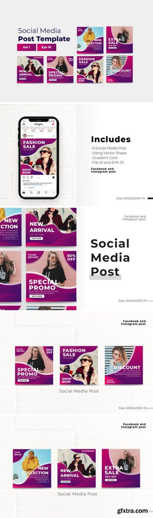 Social Media Post Graphic Vol 1 2654275