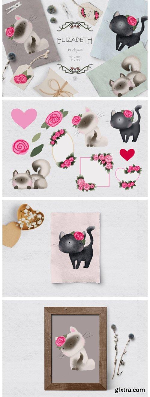 Cute Cat Clipart 2640922