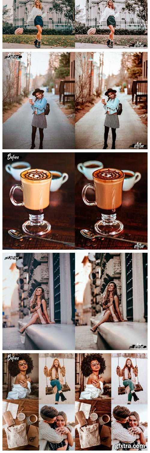 05 Double Coffee Photoshop Actions 2637722