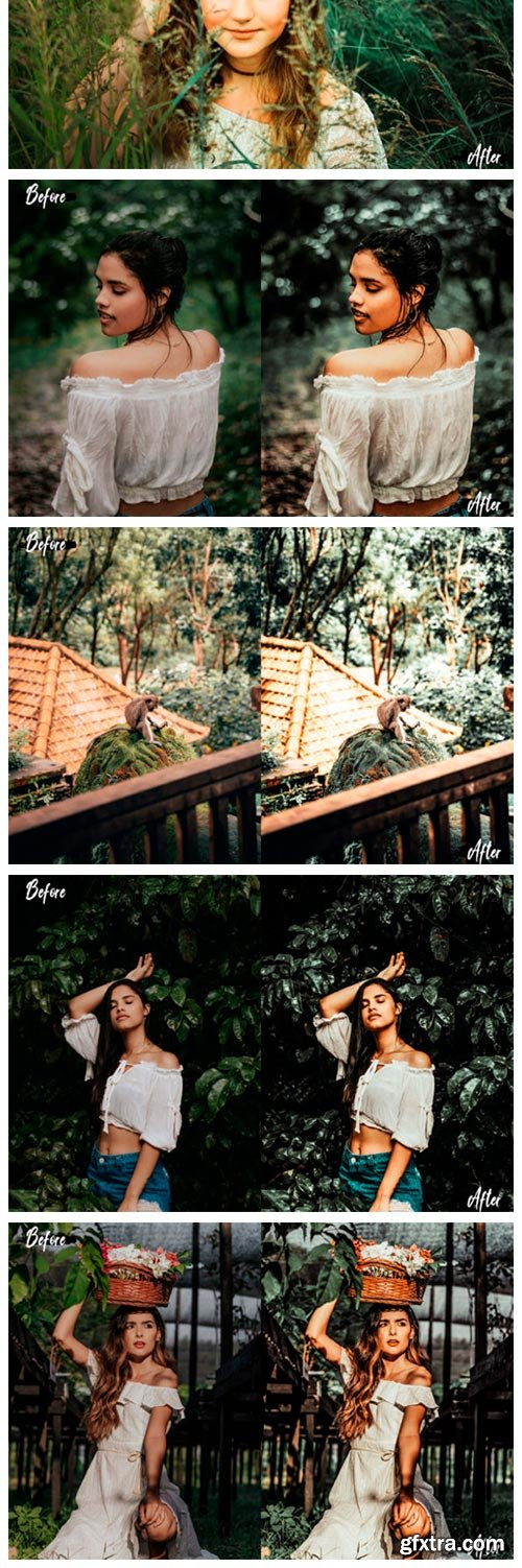 05 Woodland Photoshop Actions, ACR LUT 2637734