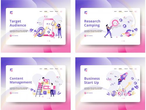 Set of web page design templates - set-of-web-page-design-templates-03c5784b-c652-46b4-981a-96d1b2338df7