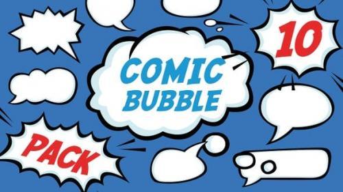 Videohive - 10 Pack Comic Bubble