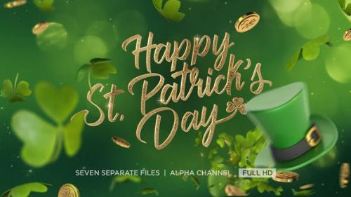 Videohive - St. Patrick's Day Greeting